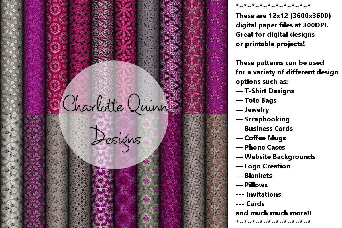 Digital Papers 219 Graphic By Digital Pattern Club Creative