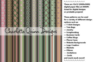 Digital Papers 222 Graphic By Digital Pattern Club