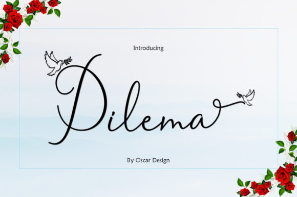 Print on Demand: Dilema Script & Handwritten Font By Lettering