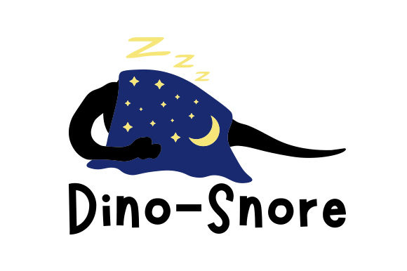 Dino-snore Craft Design By Creative Fabrica Crafts Image 1