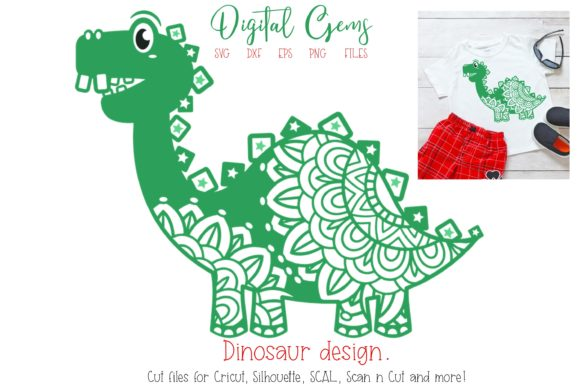Dinosaur Design Graphic By Digital Gems