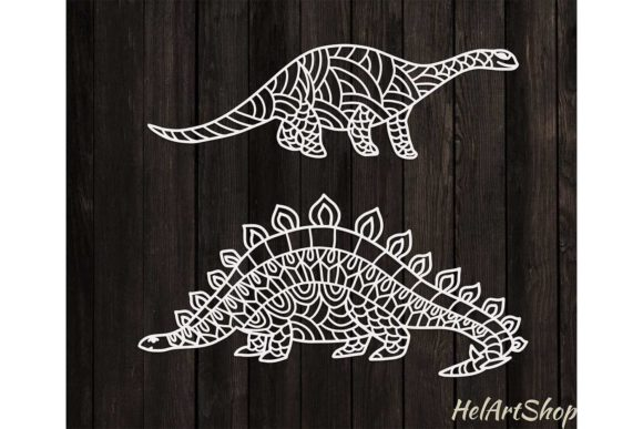 Dinosaur Bundle Graphic Crafts By HelArtShop