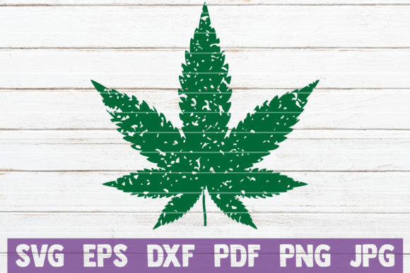 Download Free Distressed Cannabis Leaf Svg Cut File Graphic By for Cricut Explore, Silhouette and other cutting machines.