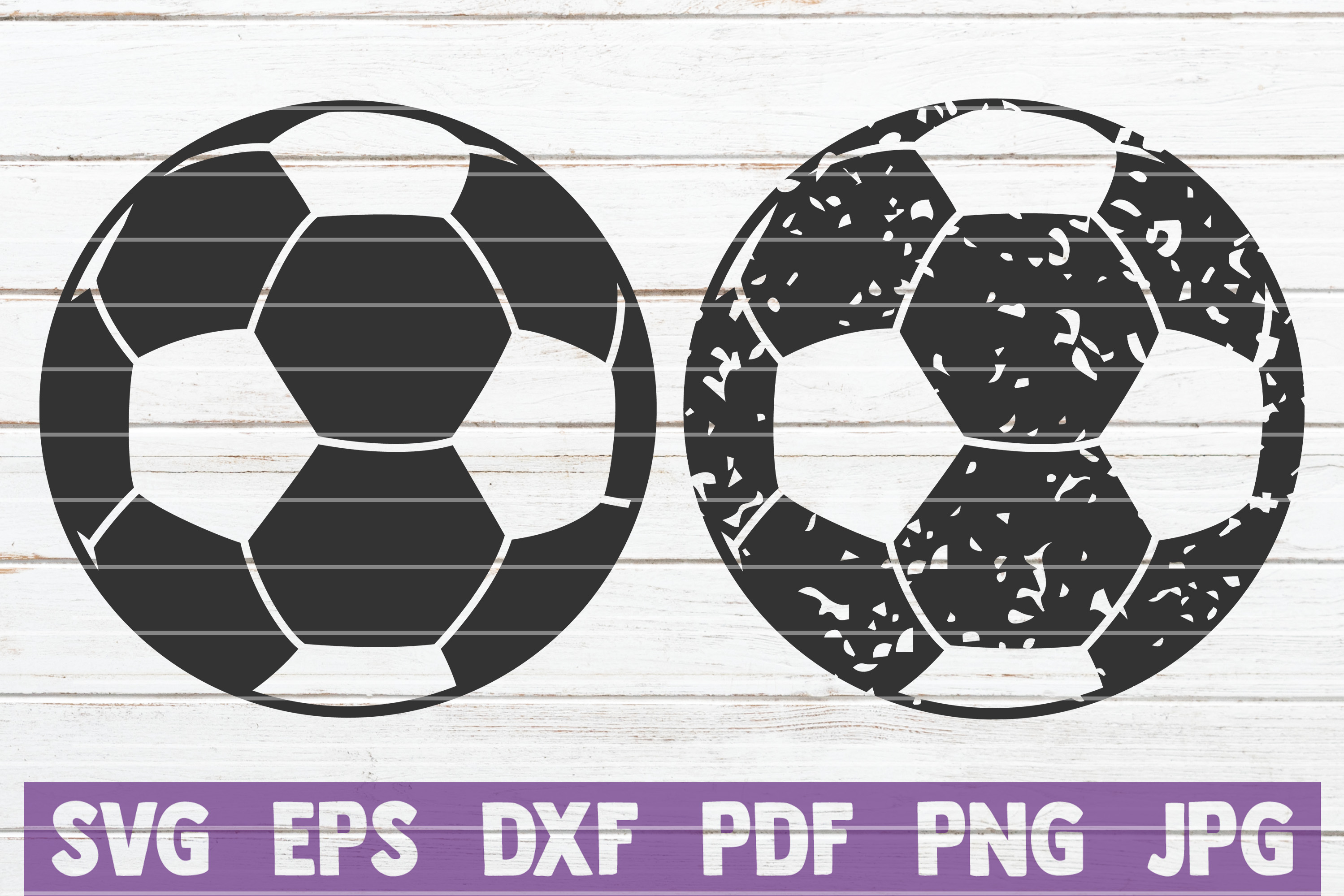Download Free Distressed Soccer Cut Files Graphic By Mintymarshmallows for Cricut Explore, Silhouette and other cutting machines.