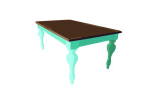 Distressed Table Craft Design By Creative Fabrica Crafts