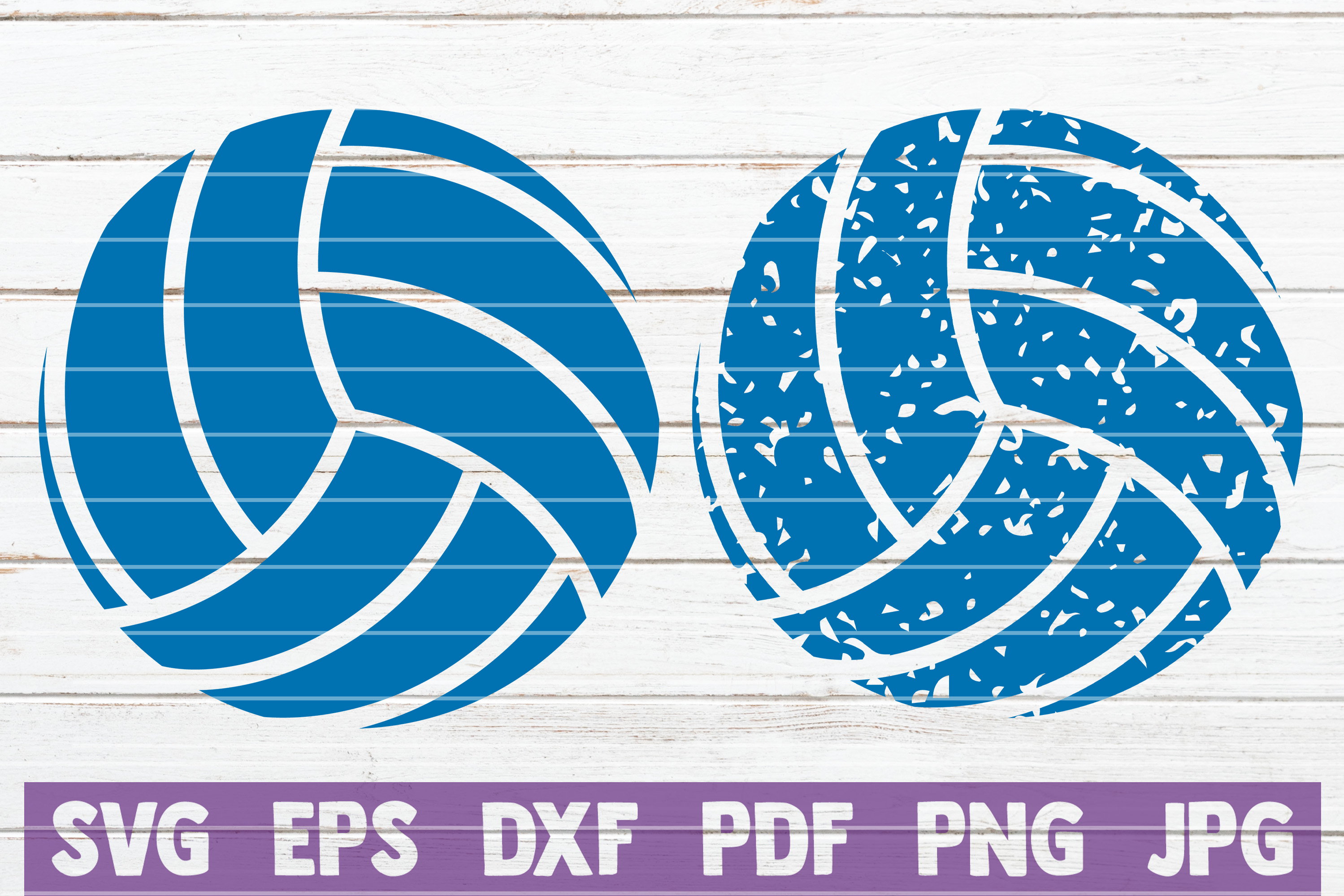 Download Free Distressed Volleyball Cut Files Graphic By Mintymarshmallows for Cricut Explore, Silhouette and other cutting machines.