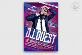 Dj Guest Flyer Template V1 Graphic By ThatsDesignStore