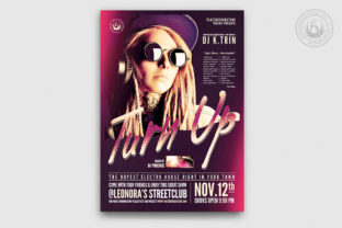 Dj Guest Flyer Template V9 Graphic By ThatsDesignStore