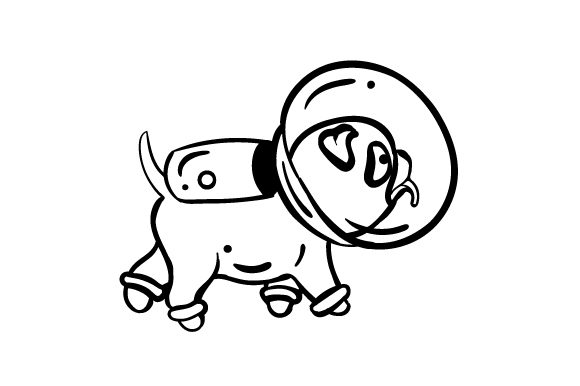 Download Free Dog In Spacesuit Svg Cut File By Creative Fabrica Crafts for Cricut Explore, Silhouette and other cutting machines.