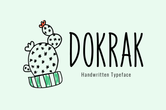 Print on Demand: Dokrak Display Schriftarten von Shattered Notion