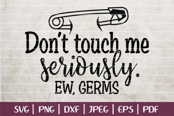 Don't Touch Me Graphic Logos By SeventhHeaven Studios