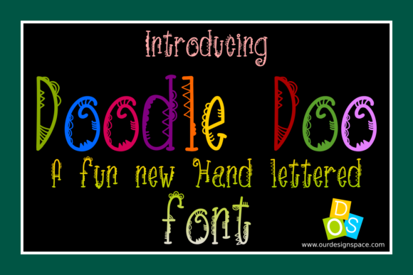 Print on Demand: Doodle Doo Decorative Font By Our Design Space - Image 2