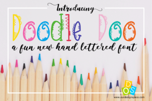 Doodle Doo Font By Our Design Space