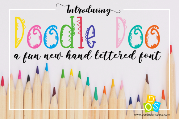 Print on Demand: Doodle Doo Decorative Font By Our Design Space