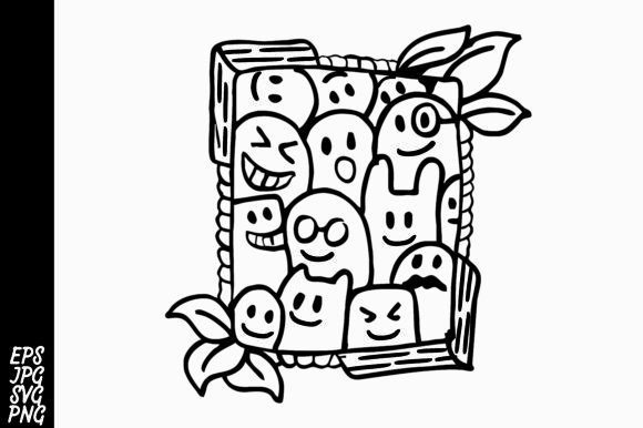 Doodle SVG Graphic By Arsa Adjie Image 1