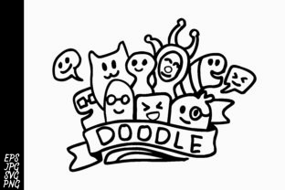 Download Free Doodle Graphic By Arsa Adjie Creative Fabrica for Cricut Explore, Silhouette and other cutting machines.