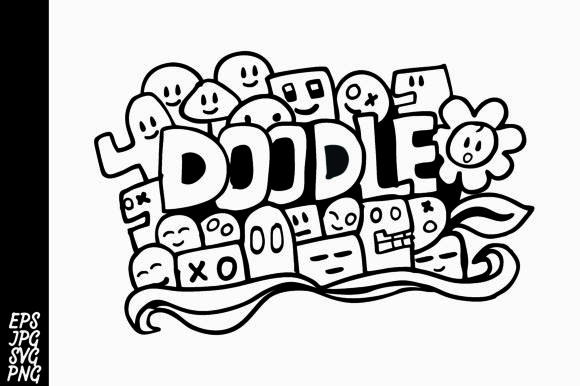 Doodle SVG Graphic By Arsa Adjie