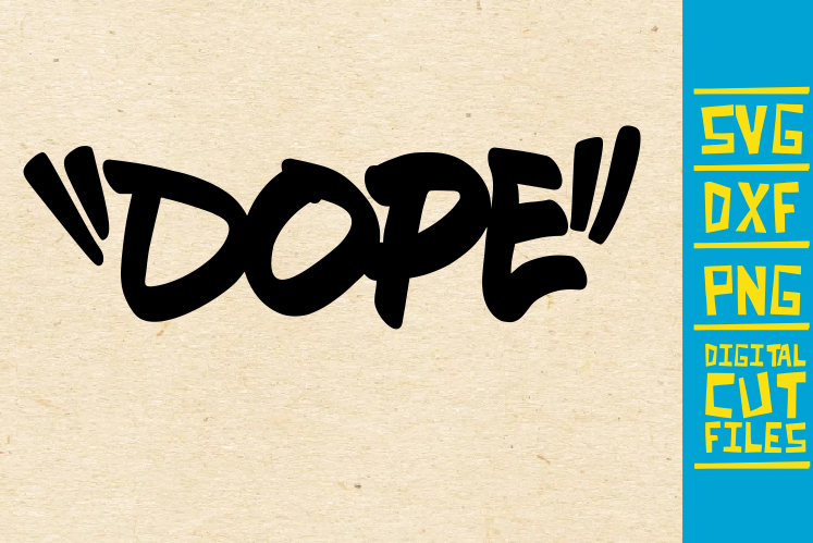 Dope Graffiti Svg Black Women Africa Graphic By