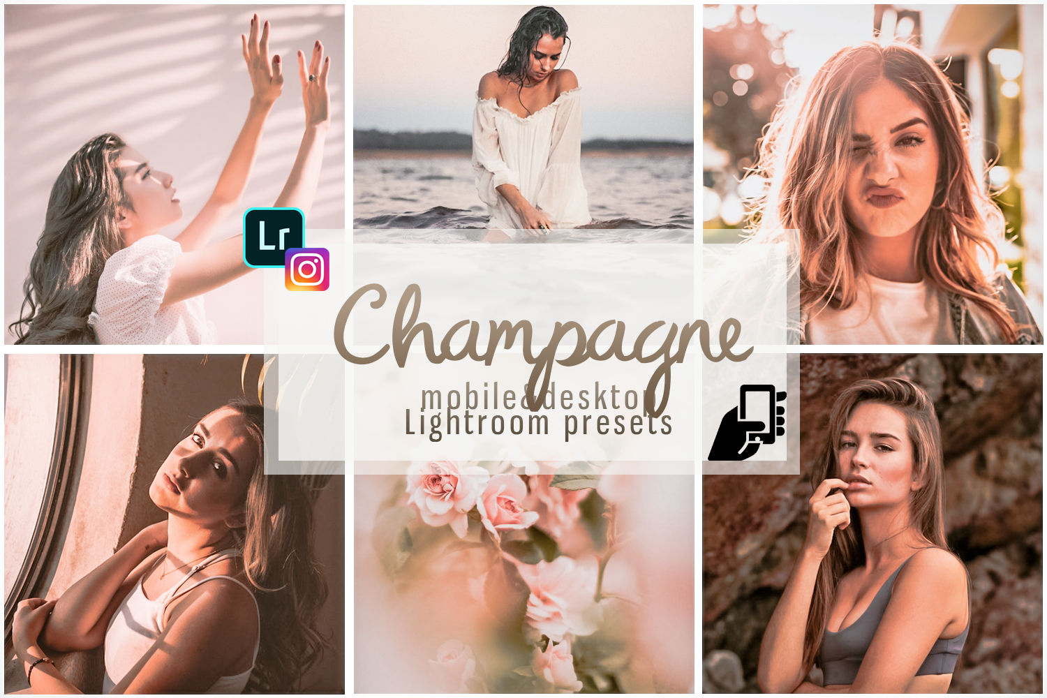 Download Free Download Presets Champagne Presets Dng Grafico Por for Cricut Explore, Silhouette and other cutting machines.