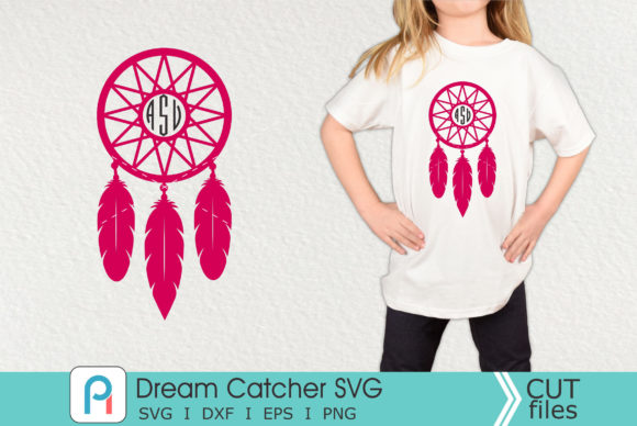 Dream Catcher Svg, Dream Catcher Dxf Graphic Crafts By Pinoyartkreatib