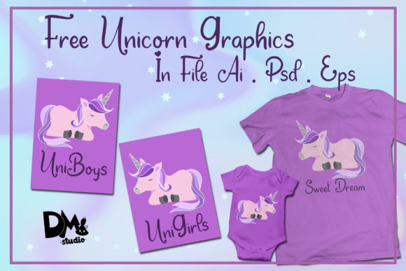 Print on Demand: Dream Unicorn Script & Handwritten Font By dmletter31 - Image 5
