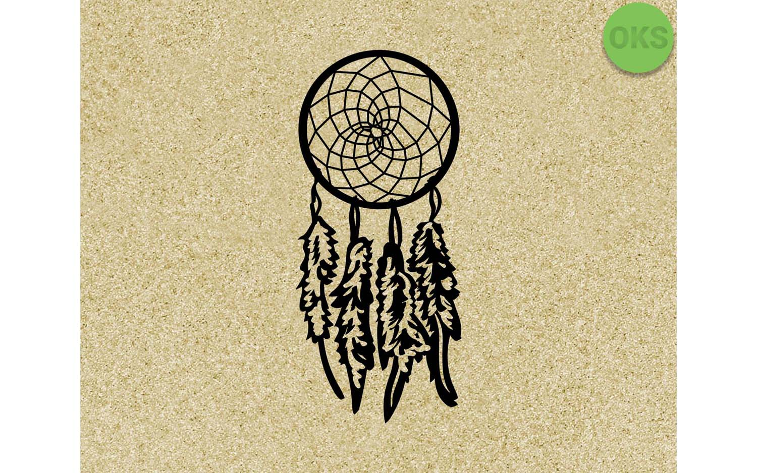 Download Free Dreamcatcher Graphic By Crafteroks Creative Fabrica for Cricut Explore, Silhouette and other cutting machines.