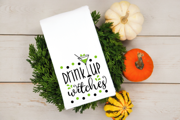 Download Free Drink Up Witches Svg Halloween Cut File Graphic By Vr Digital for Cricut Explore, Silhouette and other cutting machines.