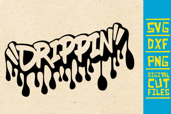 Download Free Drippin Graffiti Black Women Africa Graphic By Svgyeahyouknowme for Cricut Explore, Silhouette and other cutting machines.