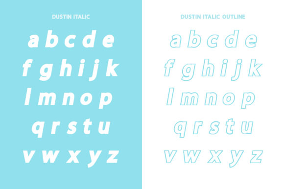 Print on Demand: Dustin Family Sans Serif Font By Salt & Pepper Designs - Image 11