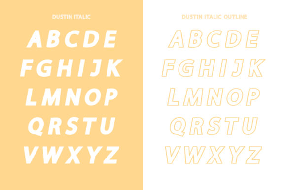 Print on Demand: Dustin Family Sans Serif Font By Salt & Pepper Designs - Image 10