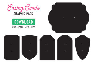 Earring Holder Display Cards Graphic By The Gradient Fox