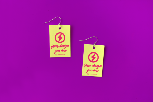 Earring Product Mock Up Set Graphic Product Mockups By RisaRocksIt - Image 3