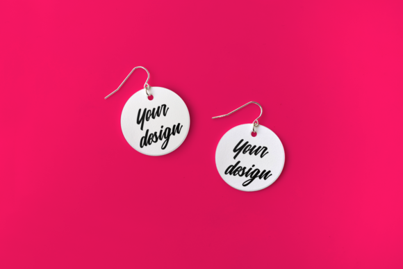 Earring Product Mock Up Set Graphic Product Mockups By RisaRocksIt - Image 4