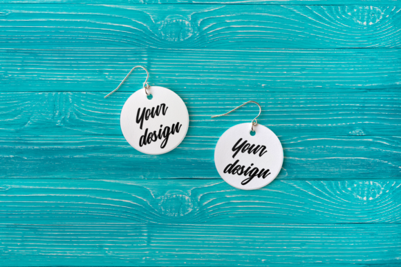 Earring Product Mock Up Set Graphic Product Mockups By RisaRocksIt - Image 5