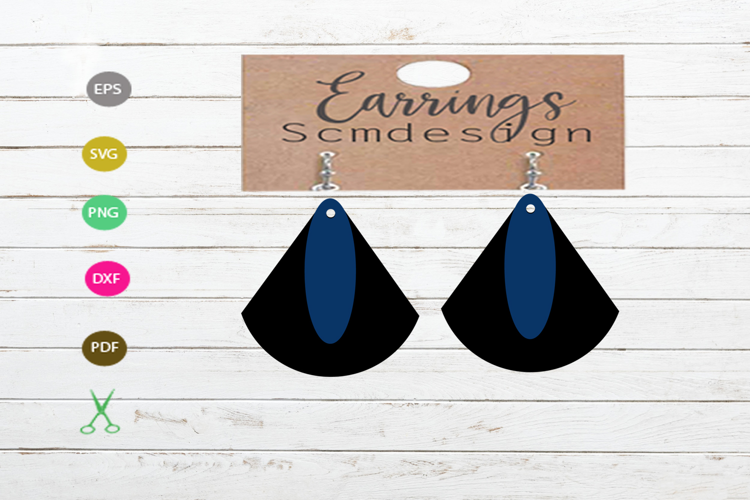 Download Free Earrings Svg Earrings Template Earrings Creative Fabrica for Cricut Explore, Silhouette and other cutting machines.