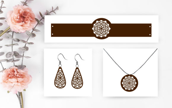 Earrings Graphic Crafts By Scmdesign