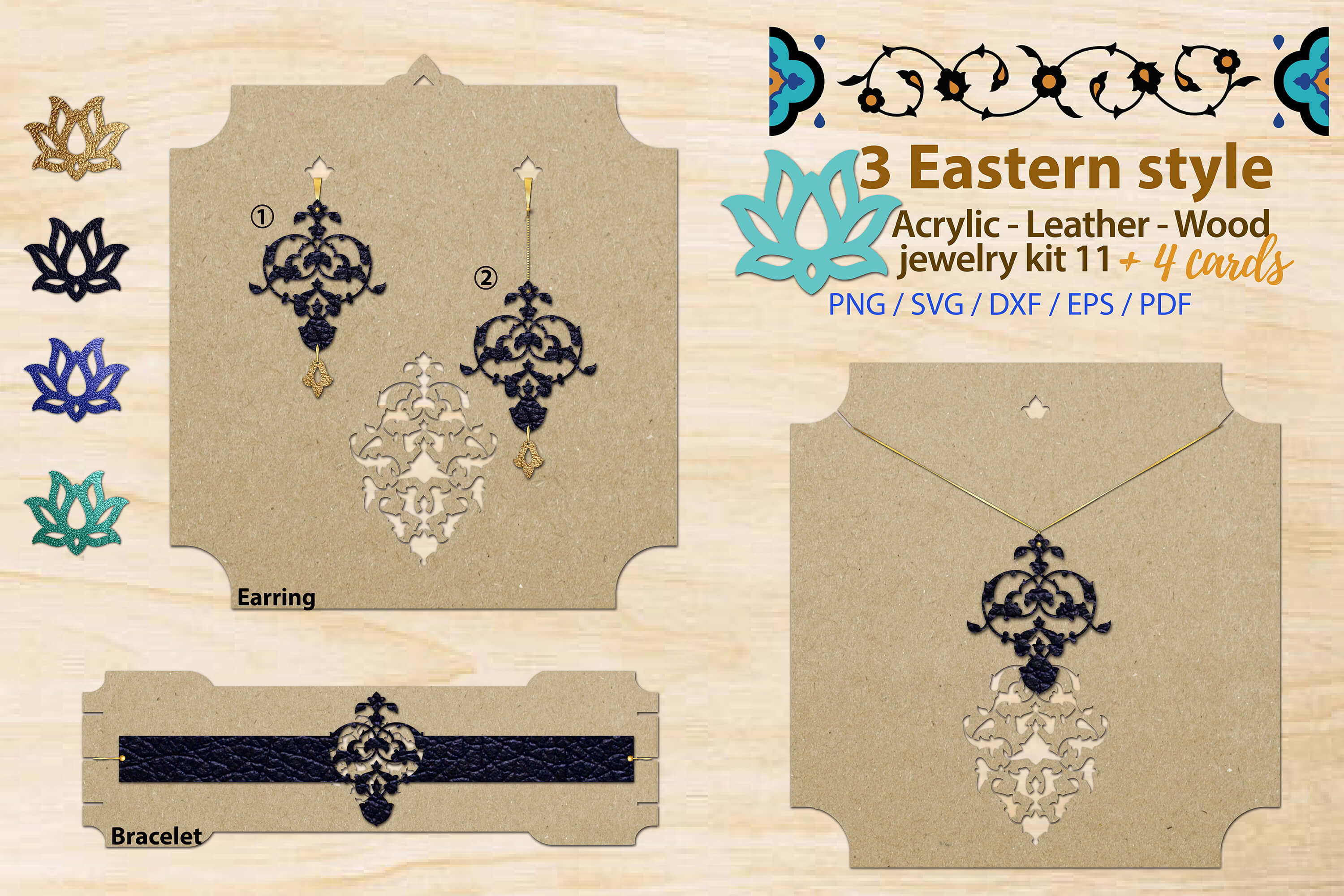 Eastern Style Jewelry Kit 11 Graphic By 3motional Creative Fabrica