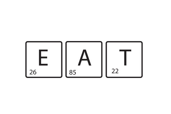 Eat As Elements of the Periodic Table Craft Design By Creative Fabrica Crafts Image 1