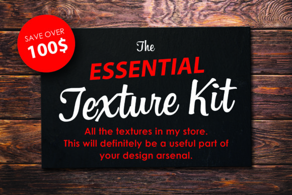 Print on Demand: Essential Texture Kit Graphic Textures By denestudios