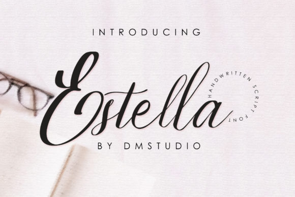 Print on Demand: Estella Script & Handwritten Font By dmletter31