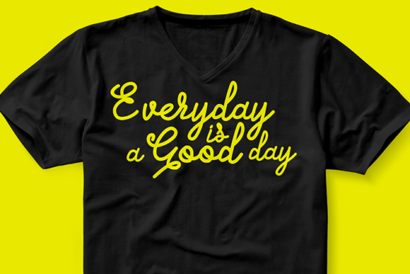 Print on Demand: Everyday is a Good Day Graphic Crafts By fadhil figuree - Image 2