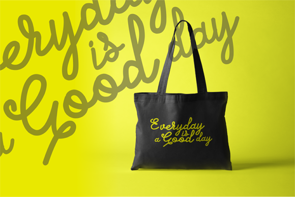 Print on Demand: Everyday is a Good Day Graphic Crafts By fadhil figuree - Image 3