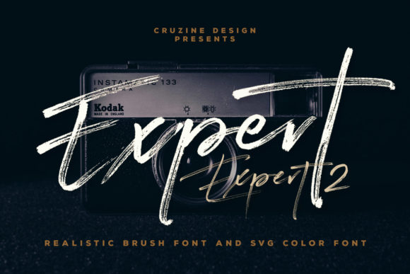 Print on Demand: Expert Script & Handwritten Font By JumboDesign