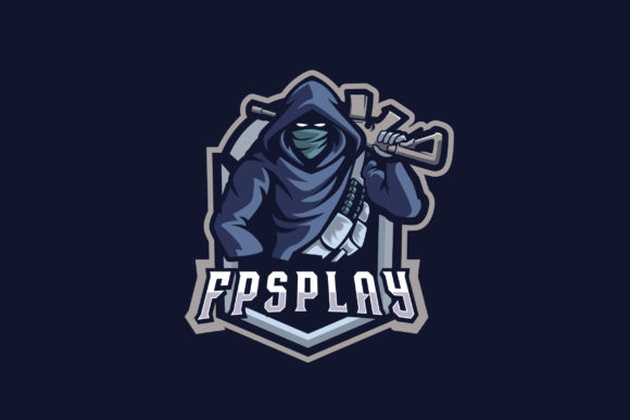Print on Demand: FPSPlay E-Sports Logo Graphic Logos By ovoz.graphics