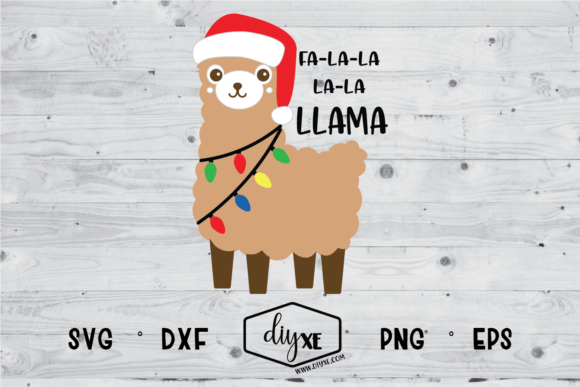 Download Free Fa La Llama Graphic By Sheryl Holst Creative Fabrica for Cricut Explore, Silhouette and other cutting machines.