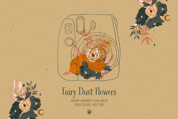 Fairy Dust Flowers Graphic Illustrations By webvilla - Image 3