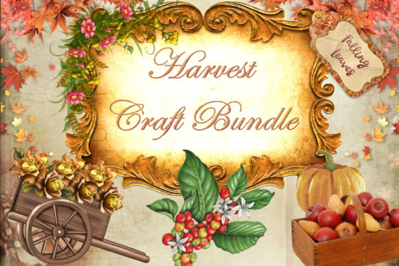 Print on Demand: Fall Craft Bundle Graphic Crafts By The Paper Princess