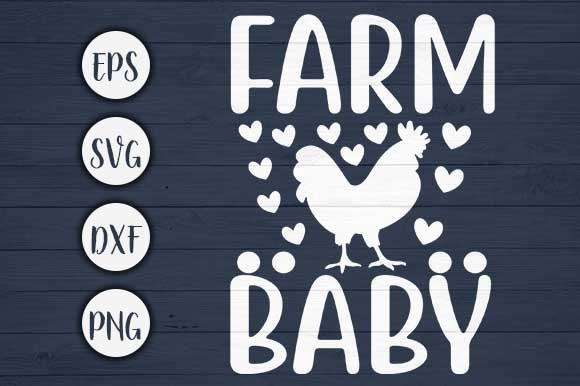 Download Free Farm Baby Farm Svg Cut File Graphic By Creativeart Creative for Cricut Explore, Silhouette and other cutting machines.
