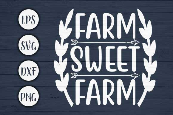 Download Free Farm Sweet Farm Svg Cut File Graphic By Creativeart Creative for Cricut Explore, Silhouette and other cutting machines.
