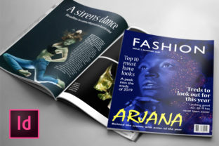 Fashion 24 Page Magazine Template Graphic By denestudios